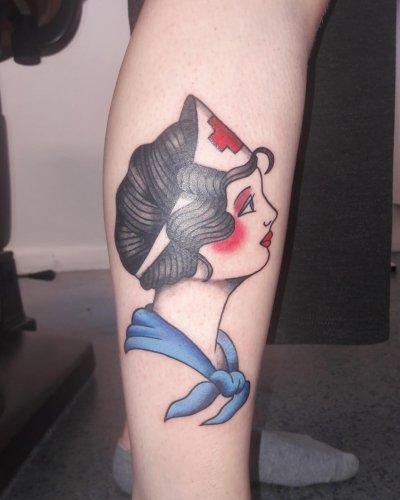 Guidon tatuointi valmiina – kopio