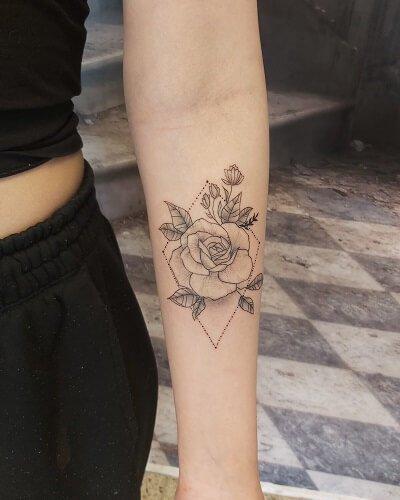 Valmista tuli myös ruususta