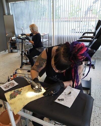 Annikan tatuointi harjoitus