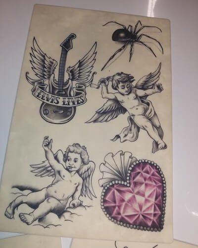 tatuointi tekniikka harjoitus
